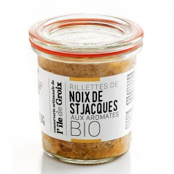 Rillettes de Saint-Jacques Bio