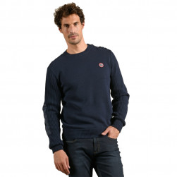 Pull marin homme Thiers marine