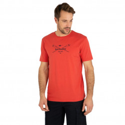 Tee-shirt homme Vally rouge