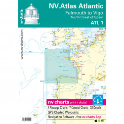 ATL 1 NV ATLAS ATLANTIC (falmouth to Vigo - north coast of Spain) 2018/2019