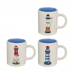 Lot de 3 mugs phares