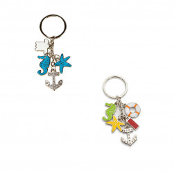 Lot de 2 portes-clefs bijoux scintillants