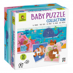 Baby puzzle mer