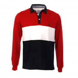 Polo jersey rouge