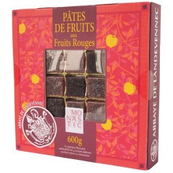 Coffret pâtes de fruits rouges