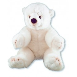 Nounours polaire assis